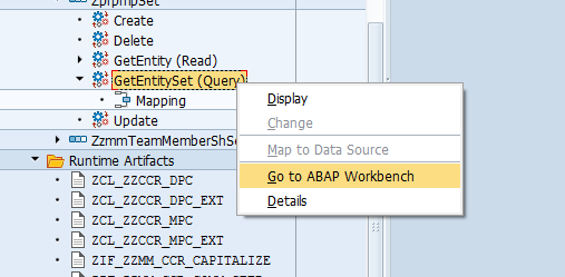 Search help on multi columns using table select dialog and OData